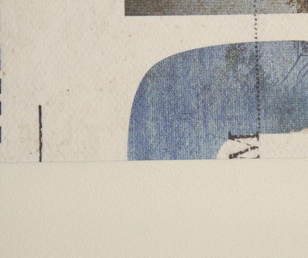 Vinyl Postcard Linóleum 50x120 cm