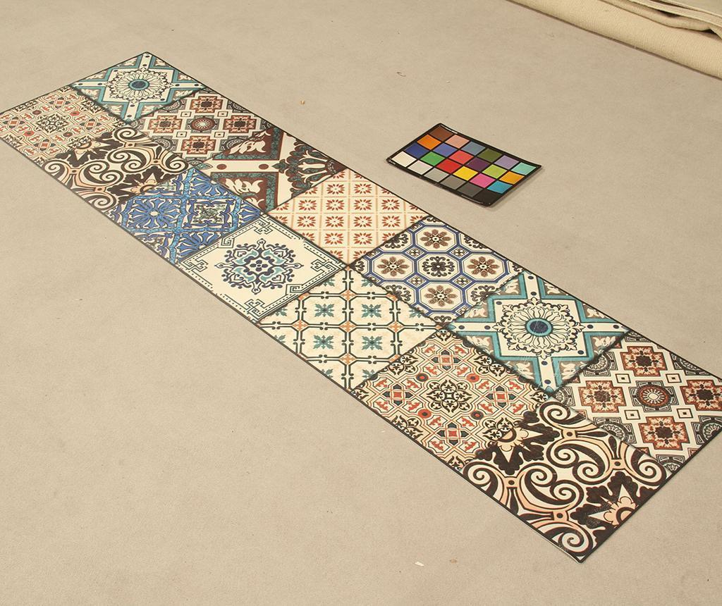 Linoleum Vista Eclectic Tiles 50x180 cm