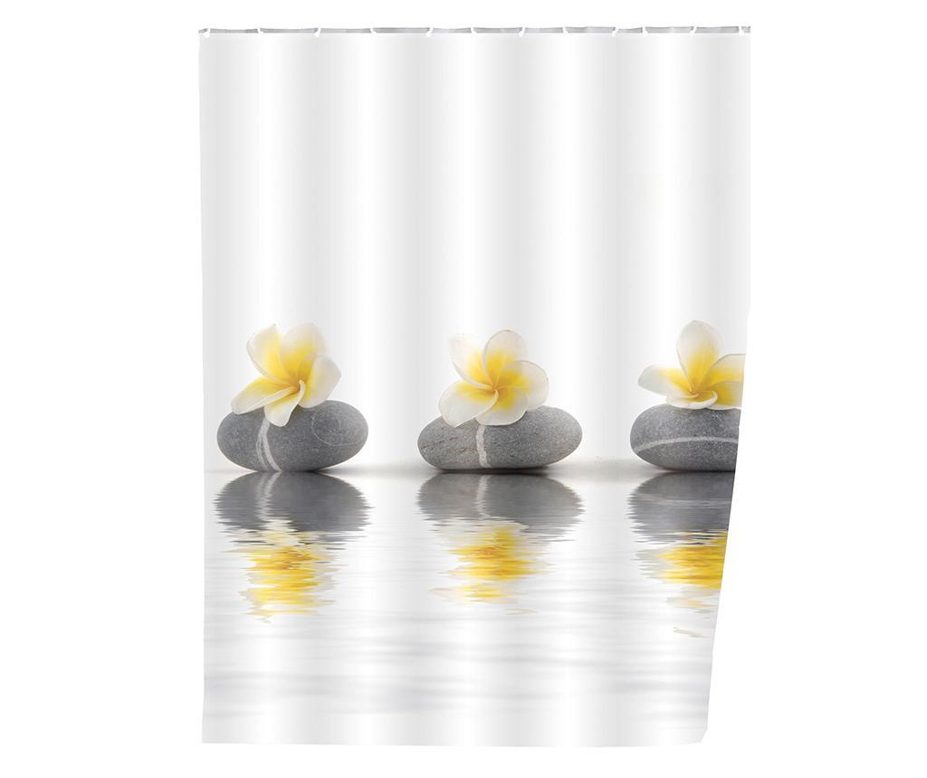 Zasłona prysznicowa Flower 180x200 cm