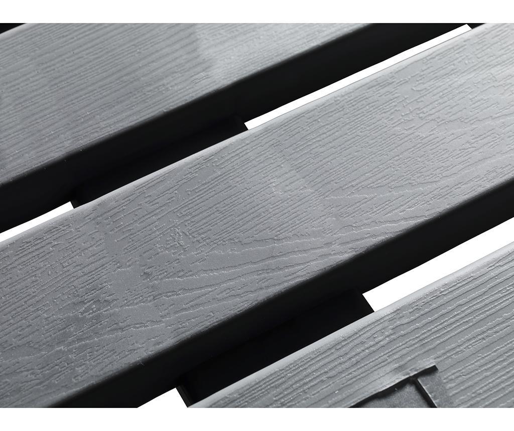 Tepih za tuš Duck Grey 55x55 cm
