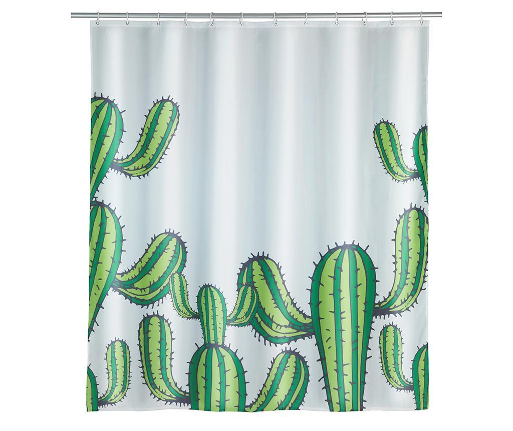 Zasłona prysznicowa Cactus 180x200 cm