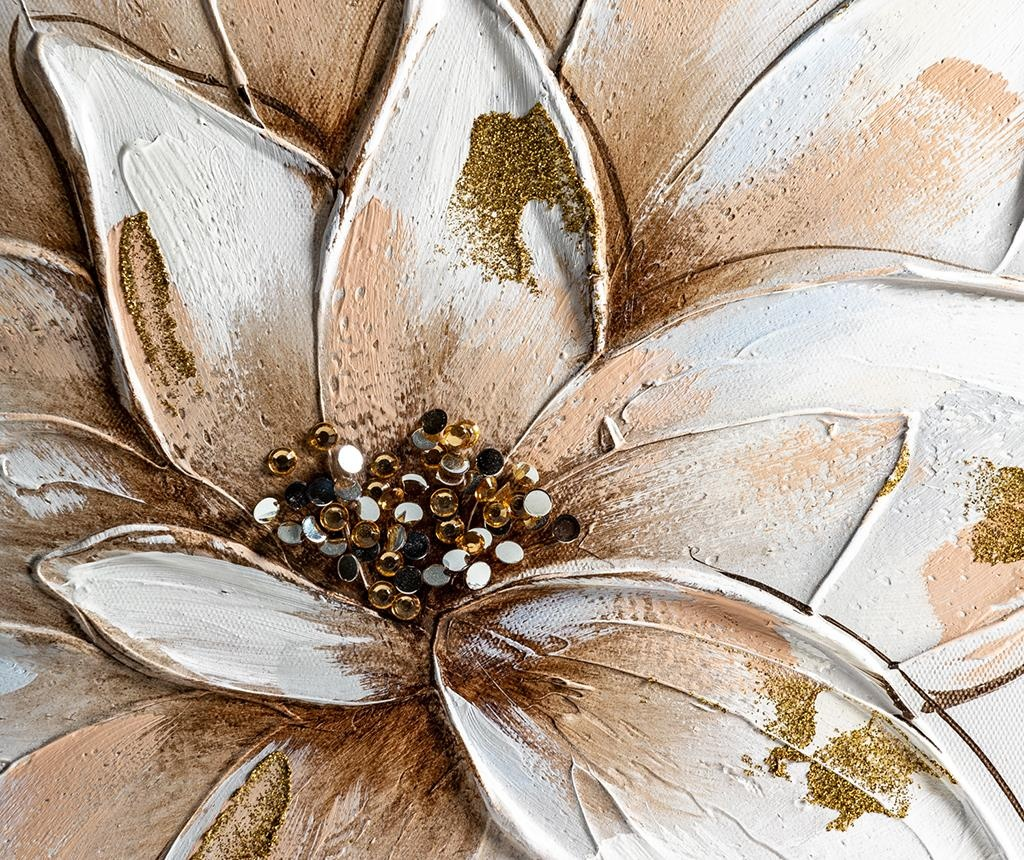 Set 2 tablouri Flower 40x40 cm