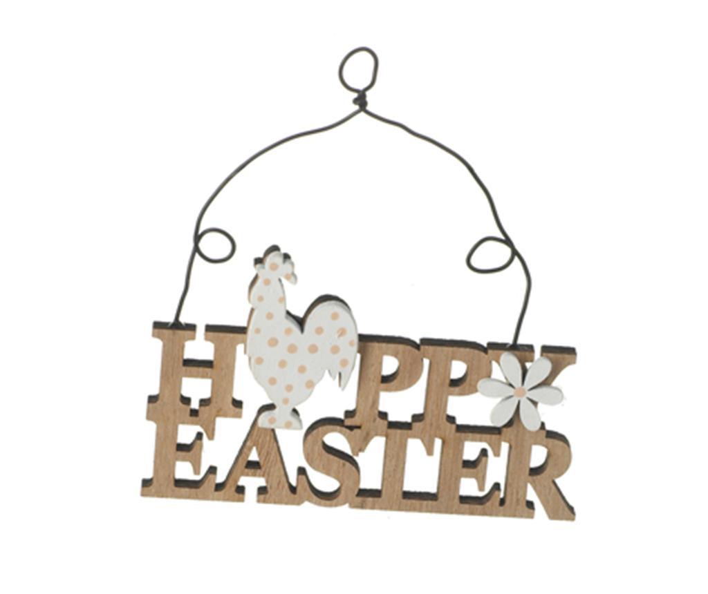 Set 4 decoratiuni suspendabile Happy Easter Spring