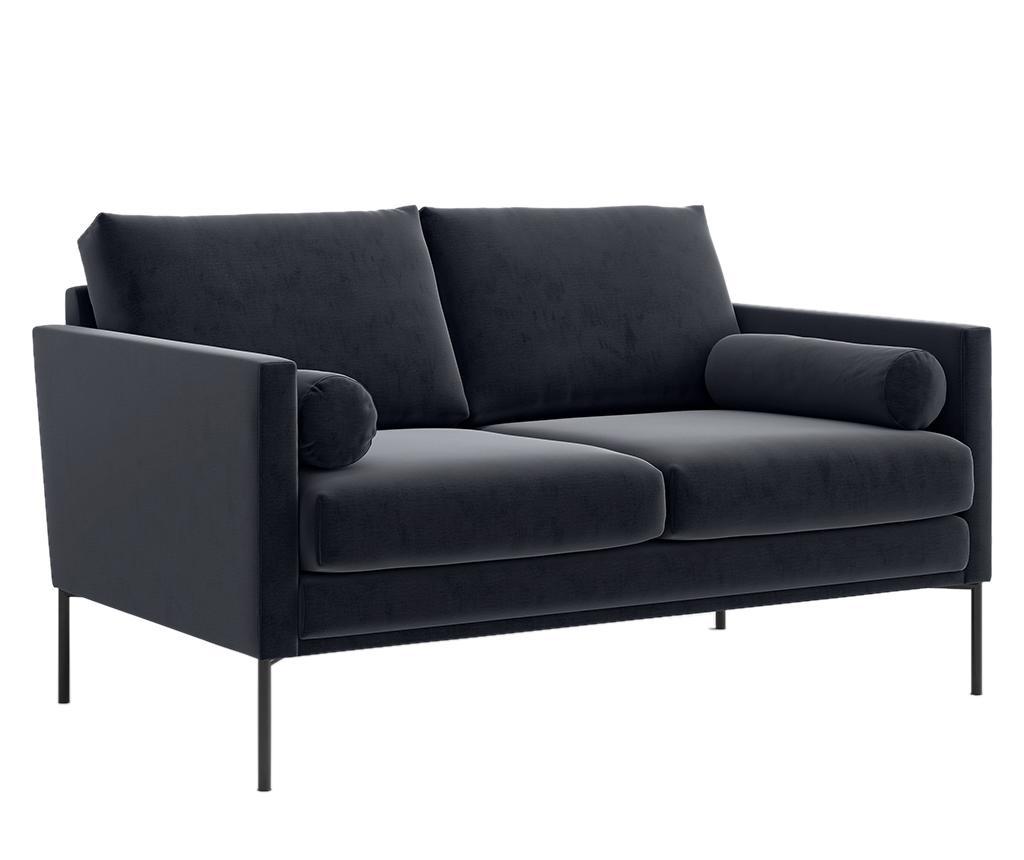 Blanca Monolith Black Kétszemélyes kanapé