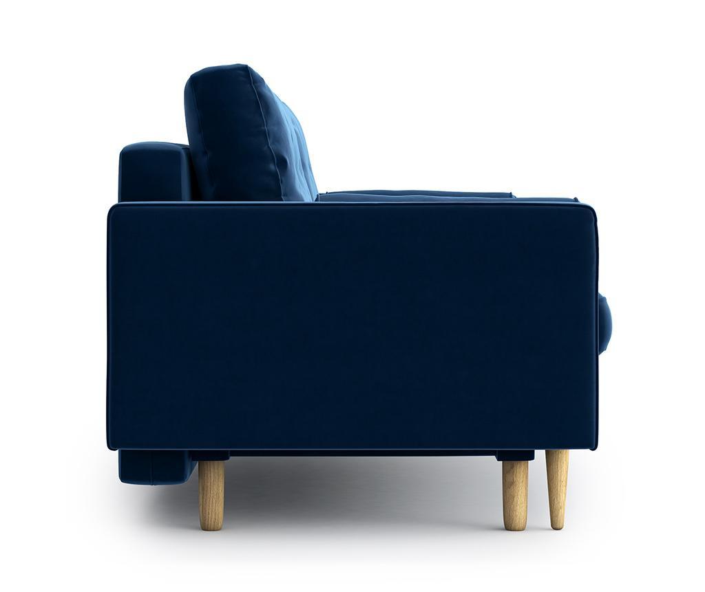 Třímístná rozkládací pohovka Esme Riviera Blue
