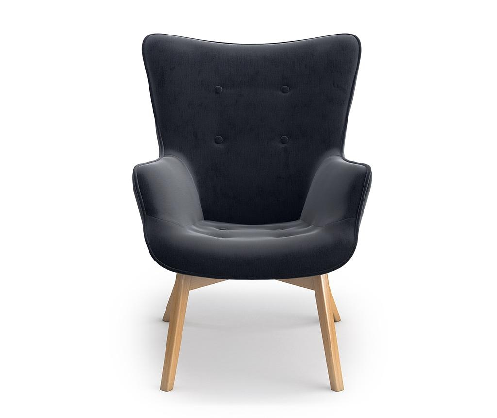 Tilda Monolith Black Fotel