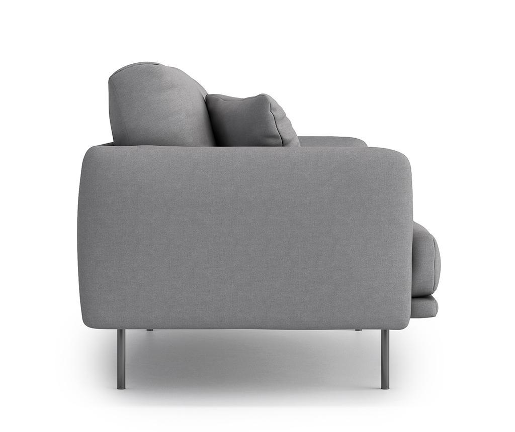 Canapea 2 locuri Uma Soro Grey