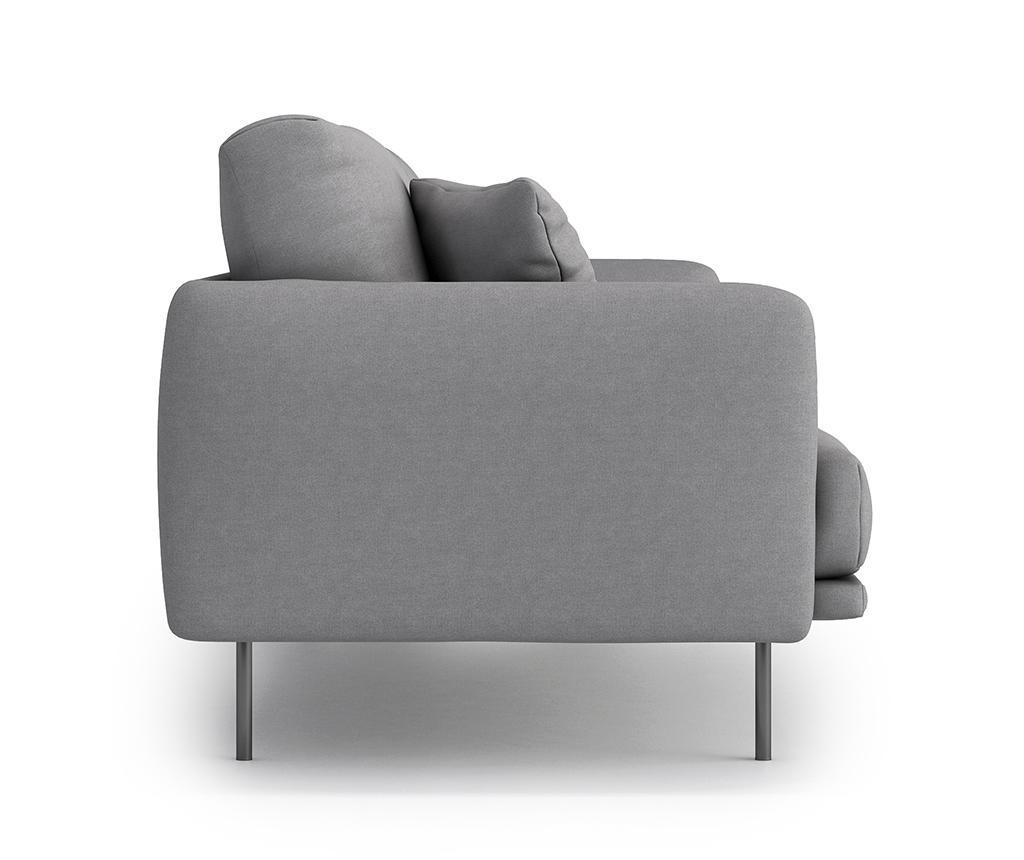 Uma Soro Grey Háromszemélyes kanapé