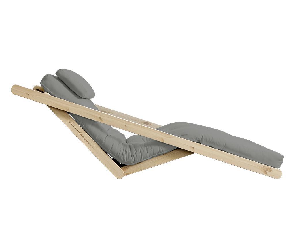 Figo Natural & Grey Kihúzható nappali heverő