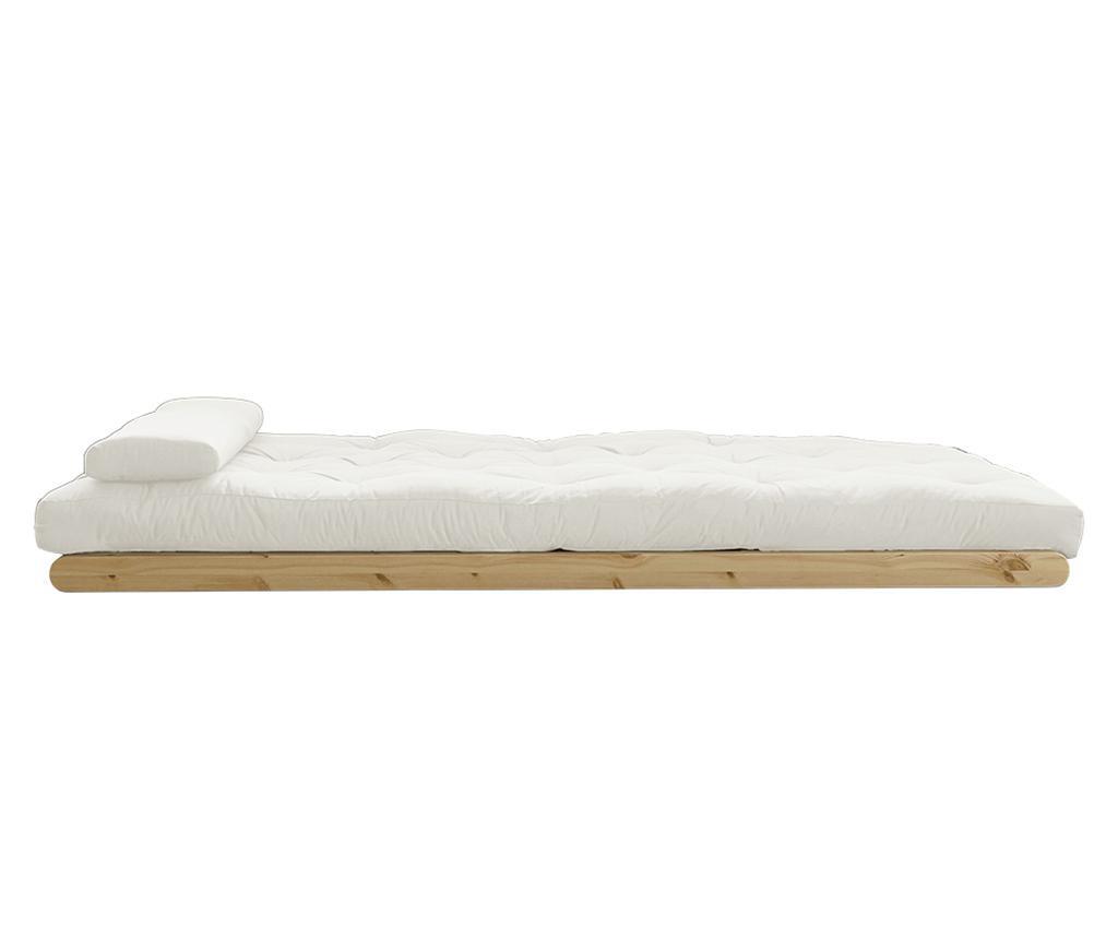 Figo Natural Kihúzható nappali heverő 120x200 cm