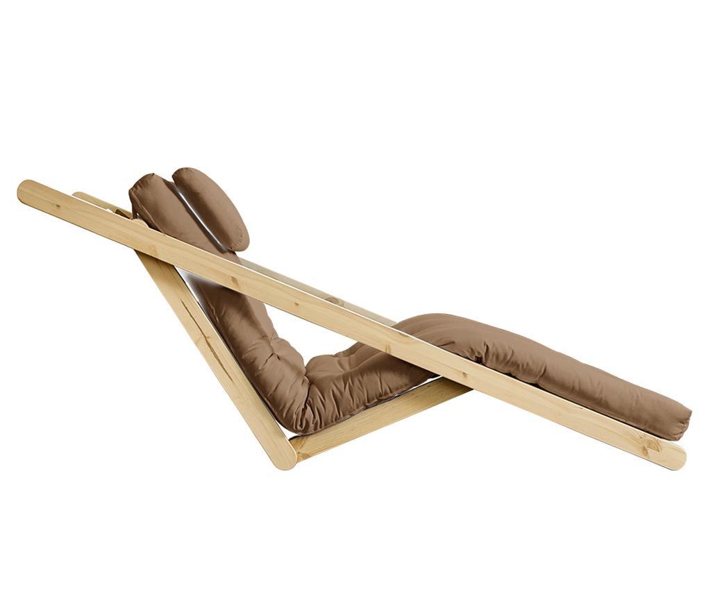 Figo Natural & Mocca Kihúzható nappali heverő 120x200 cm