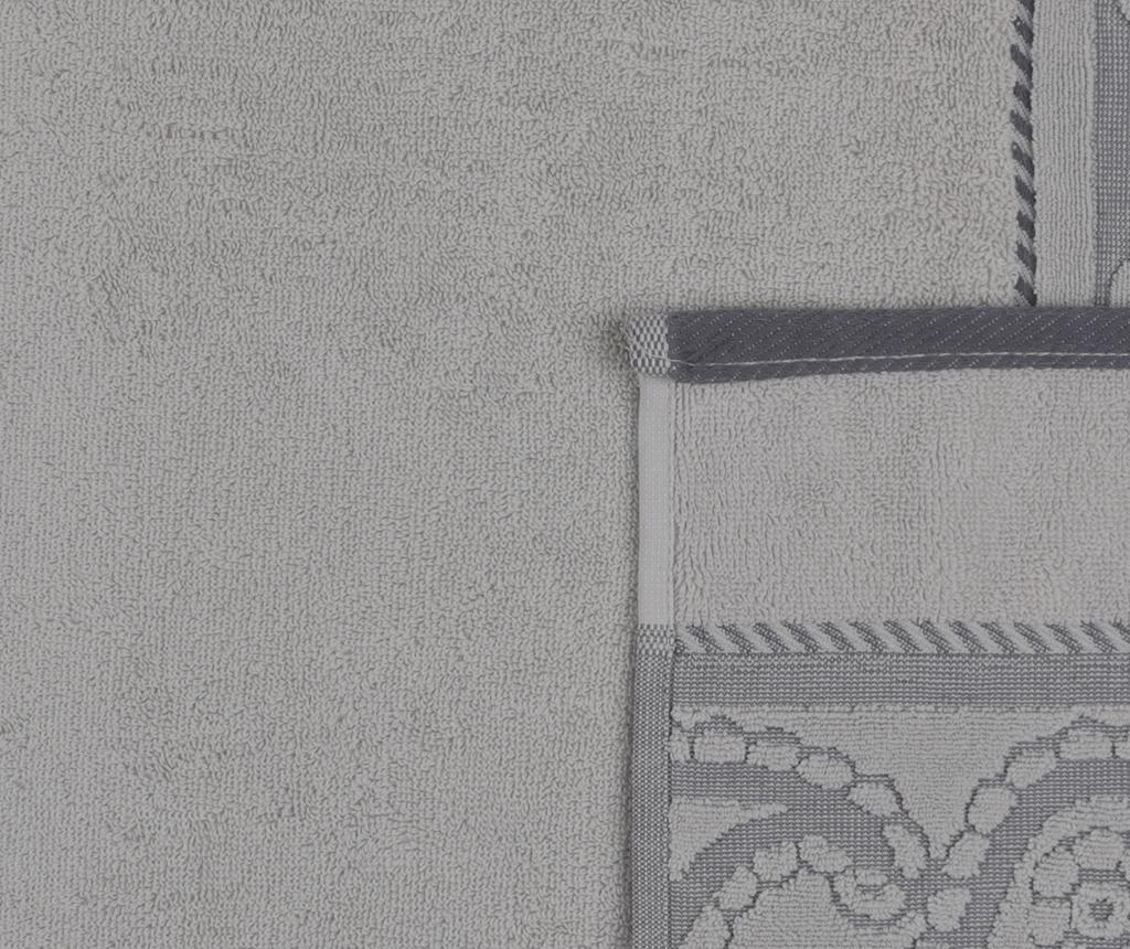 Set 2 prosoape de baie Hurrem Grey 50x90 cm