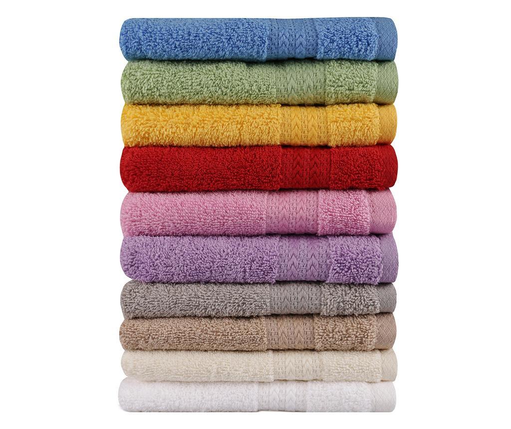 Wash 10 db Fürdőszobai törölköző 30x50 cm