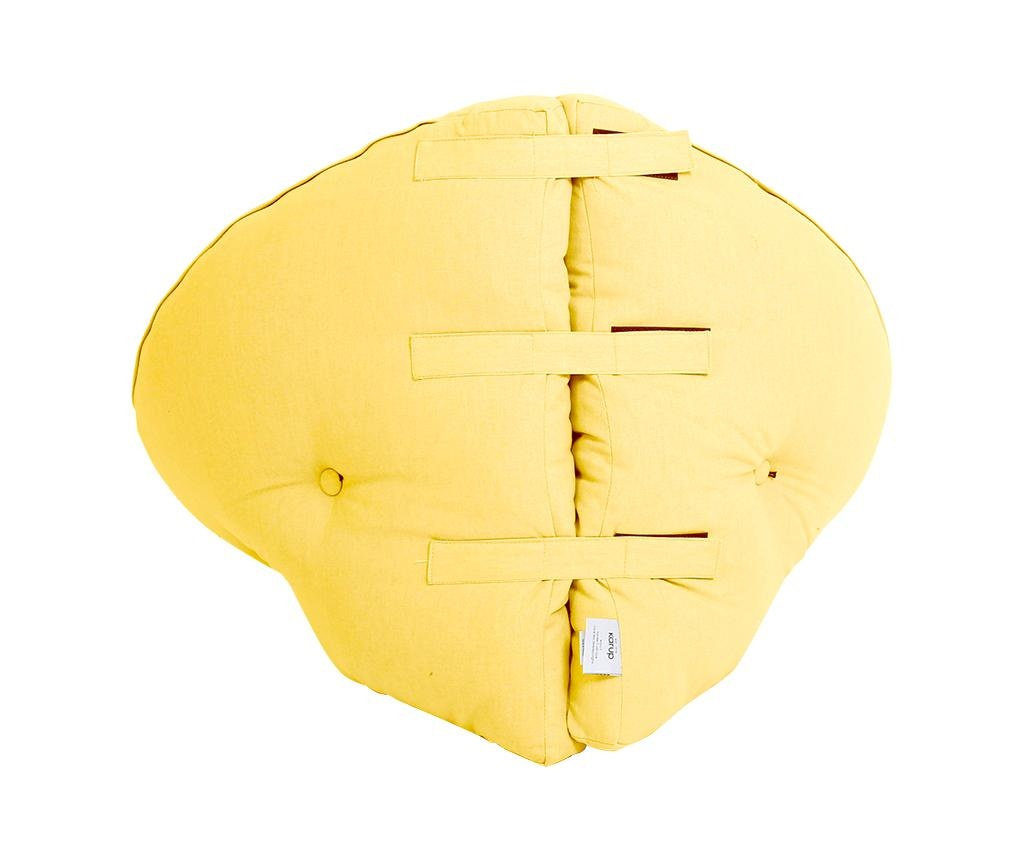 Otroško gnezdo Mini Nido Amarillo 75x150 cm