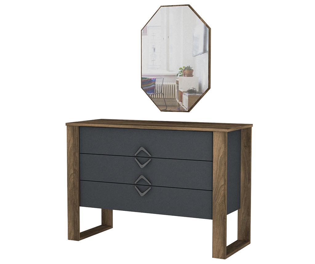 Set - predalnik in ogledalo Bumerang Aynali