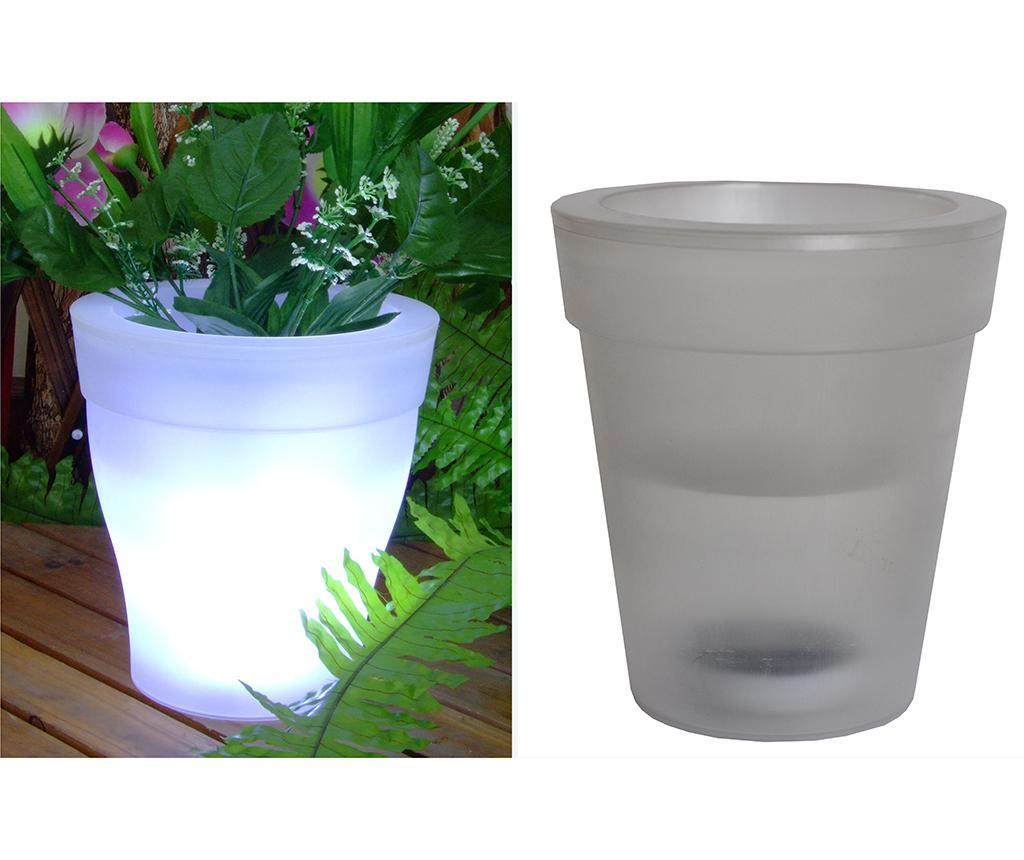 LED cvetlični lonec Solar White