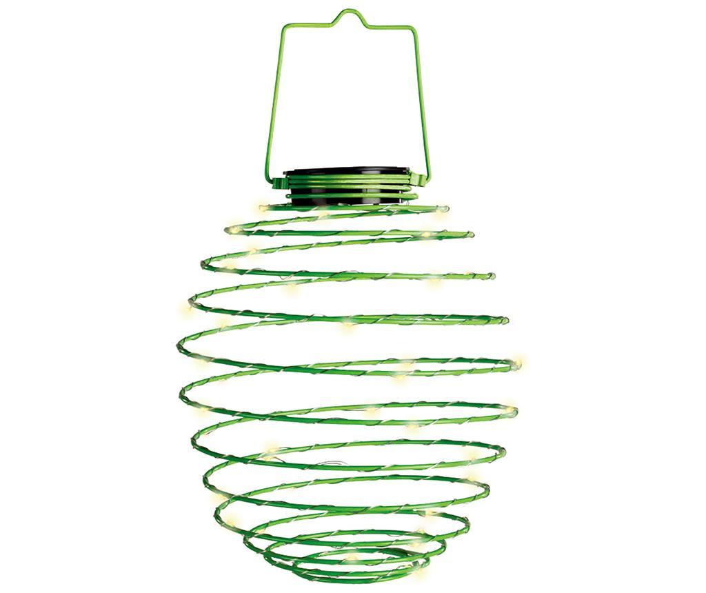Solarna svetilka Spiral Green