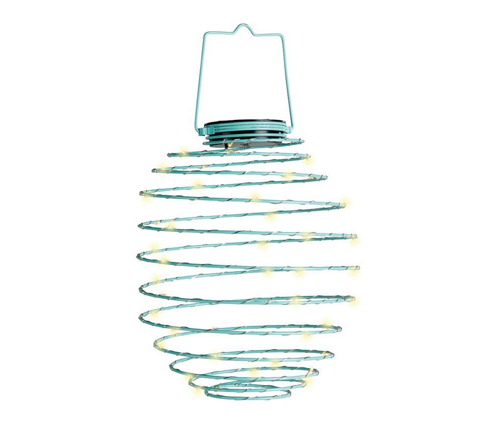 Solarna svetilka Spiral Blue