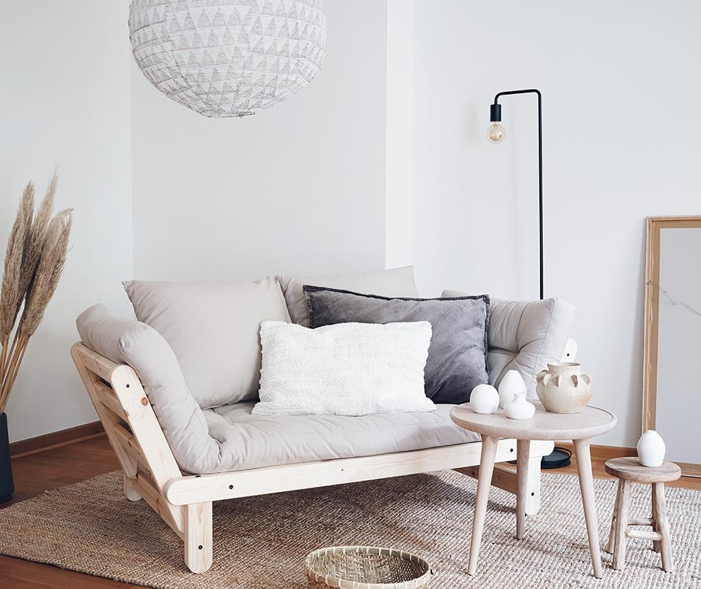 Sofa extensibila Beat White & Linen Half