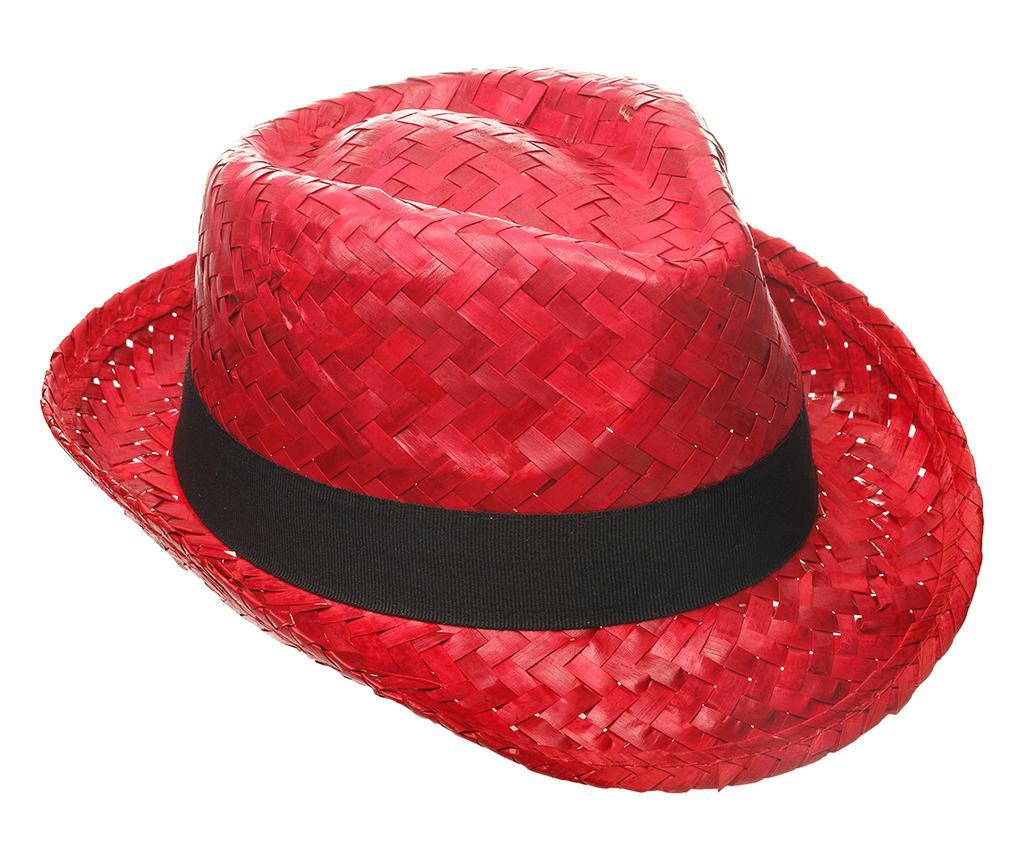 Klobuk Pewter Red