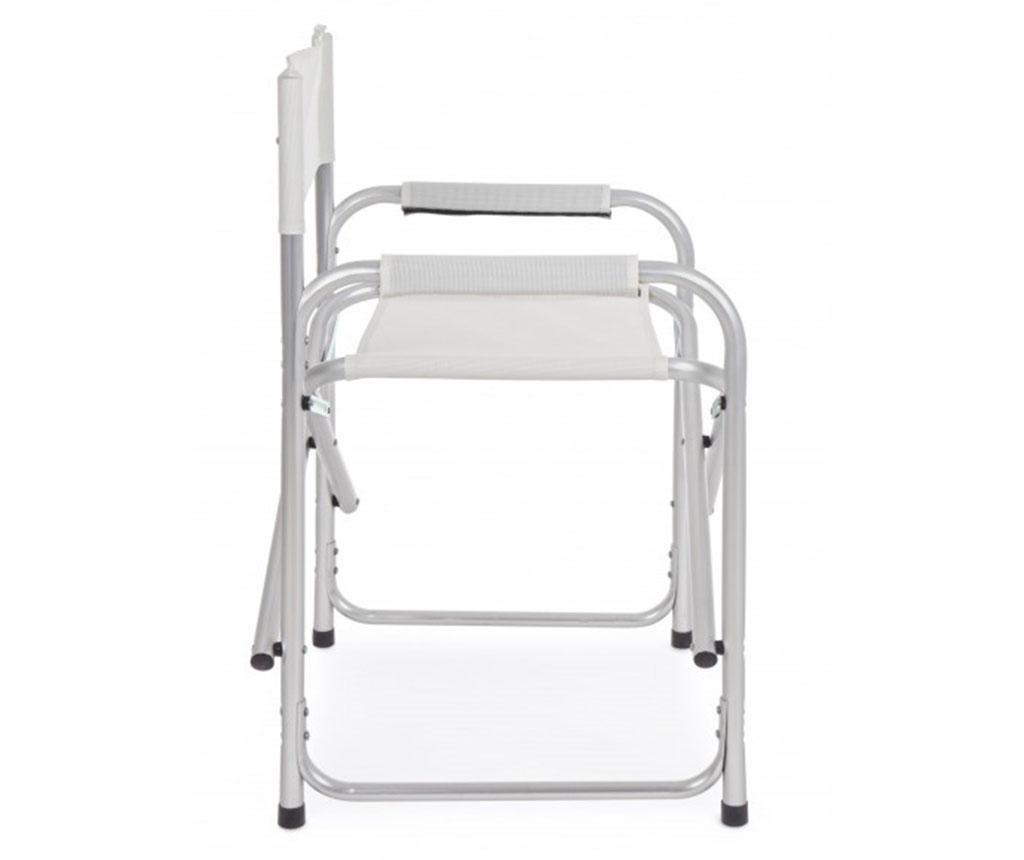 Sklopiva stolica za vanjski prostor Ocean White