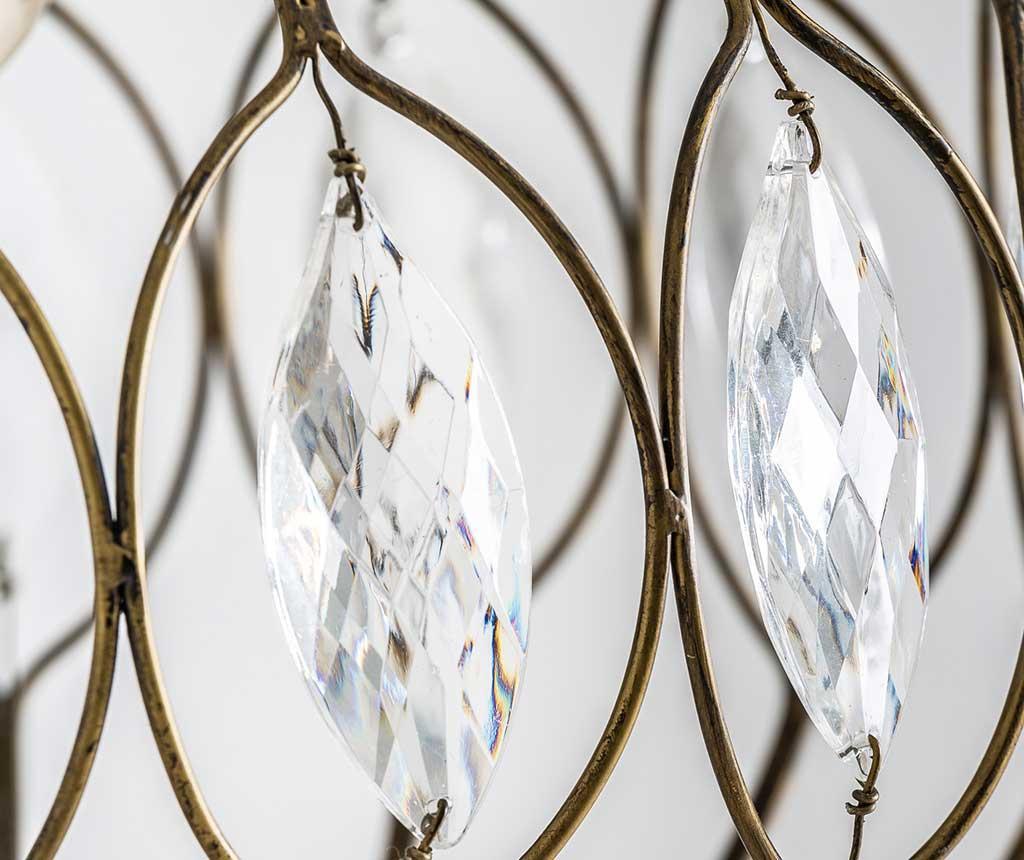 Lustra Crystal Leaves