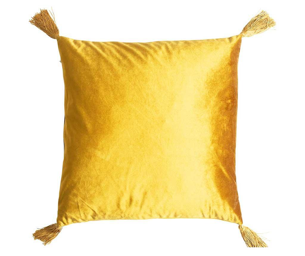Perna decorativa Airlia Mustard 45x45 cm