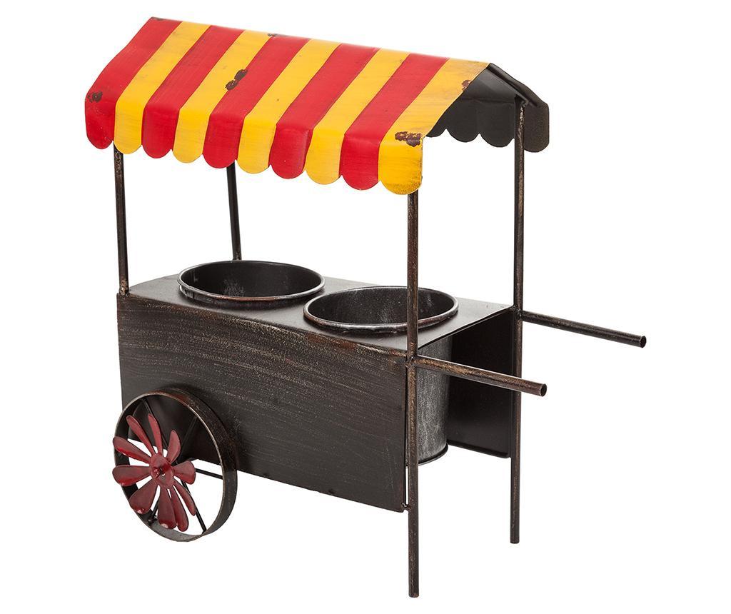 Obal na květináč Vintage Cart Two