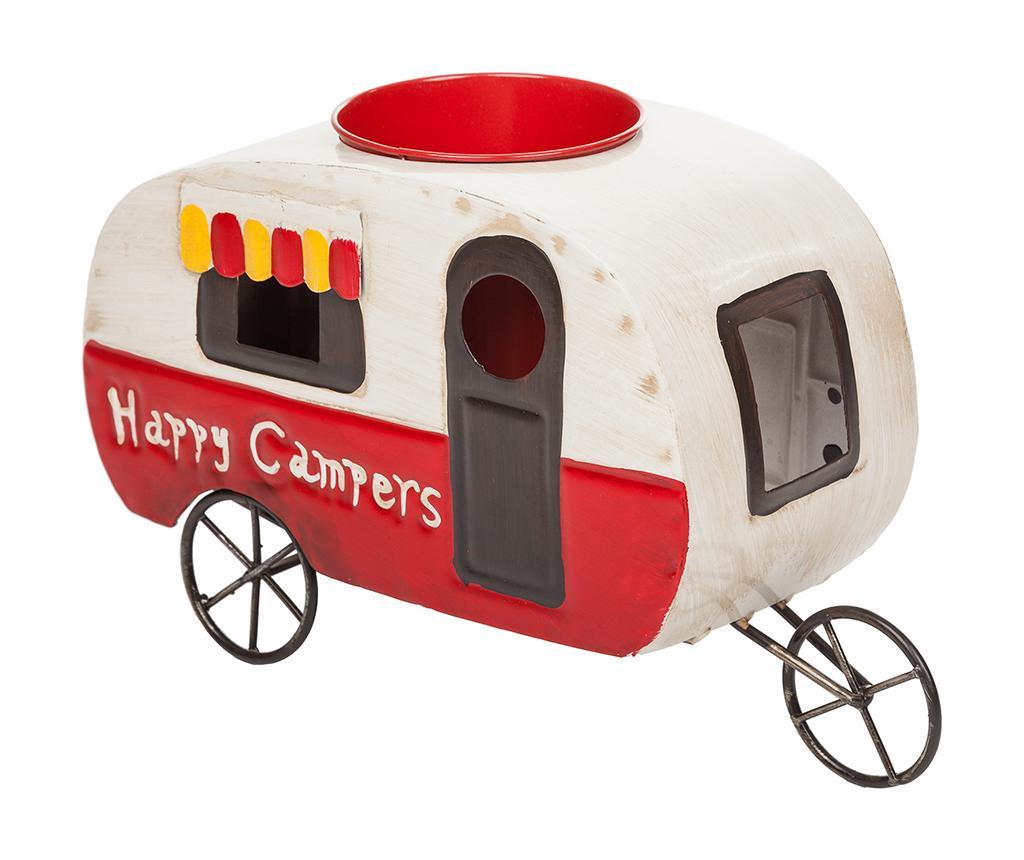 Suport pentru ghiveci Vintage Happy Campers