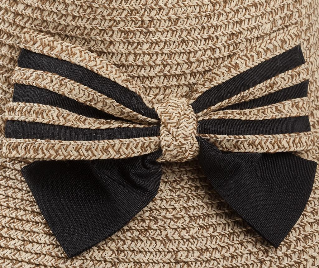 Palarie dama Striped Bow
