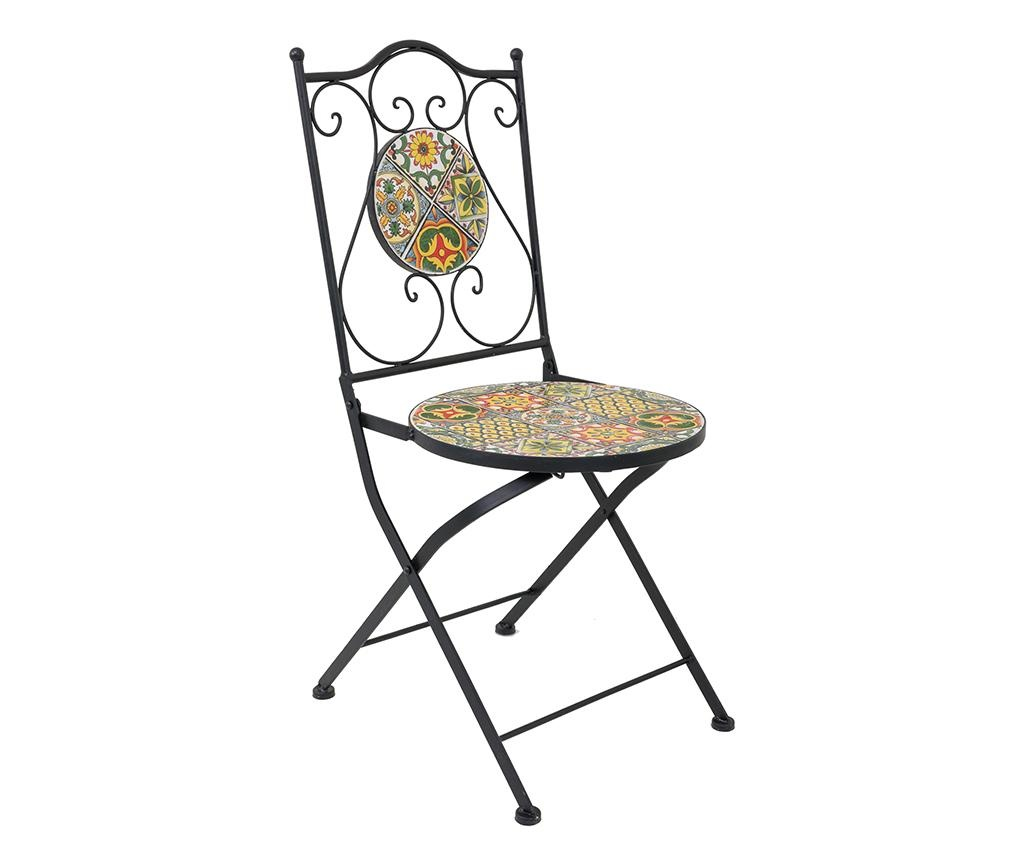 Set - vrtna miza in 2 vrtna stola Mosaic Tiles Multi