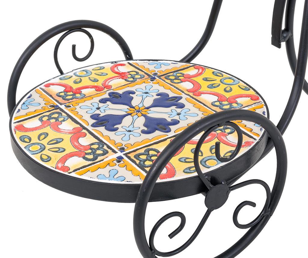 Suport pentru ghivece Mosaic Multi Flowers