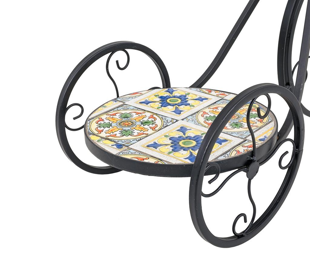 Stojalo za cvetlični lonec Mosaic Bicycle