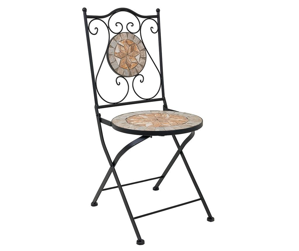 Mosaic Flower Geometric Kültéri asztal és 2 db szék