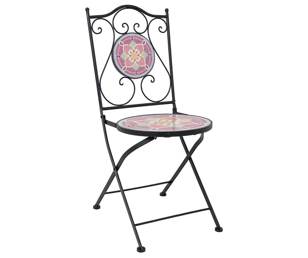 Set stol i 2 stolice za vanjski prostor Mosaic Petals