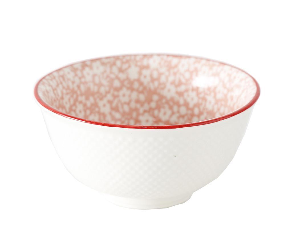 Bol Fleuri Pink 350 ml