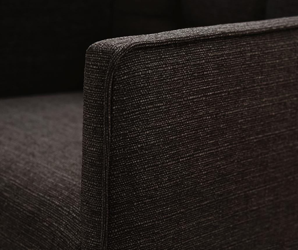 Set 2 scaune Freesia Brown & Dark Brown