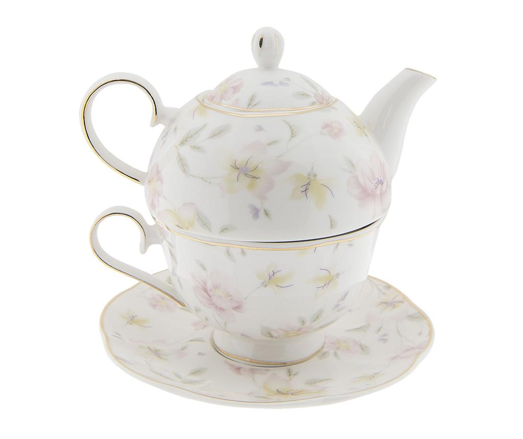 Set ceainic cu ceasca si farfurioara Amilla
