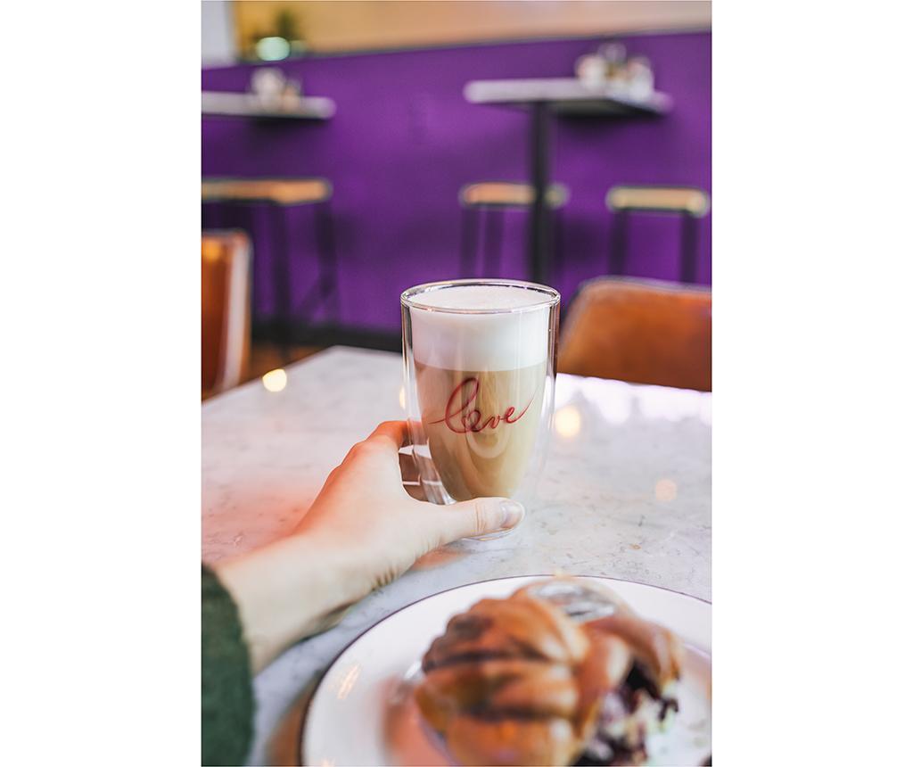 Set 2 pahare Irish Cream 350 ml