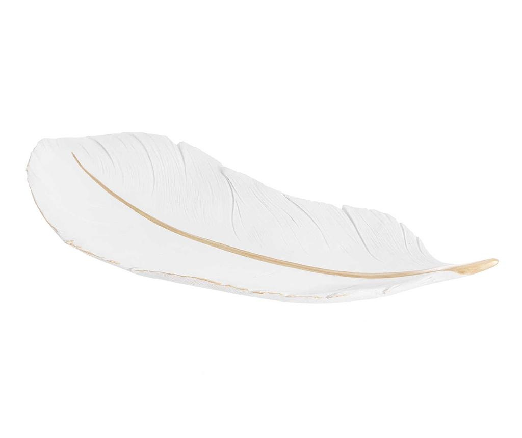 Platou decorativ Feather Line