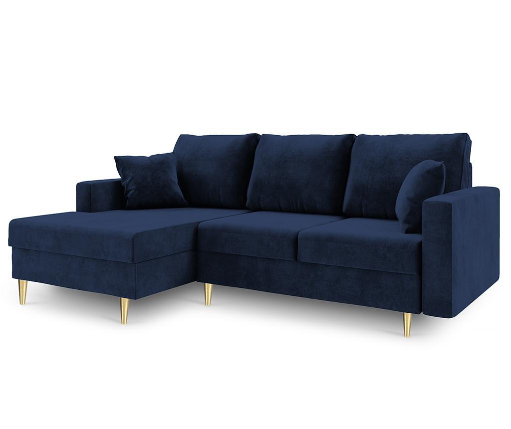 Coltar extensibil stanga Muguet Royal Blue