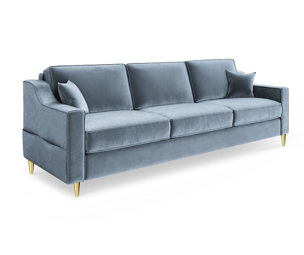 Kauč trosjed na razvlačenje Marigold Gray Blue