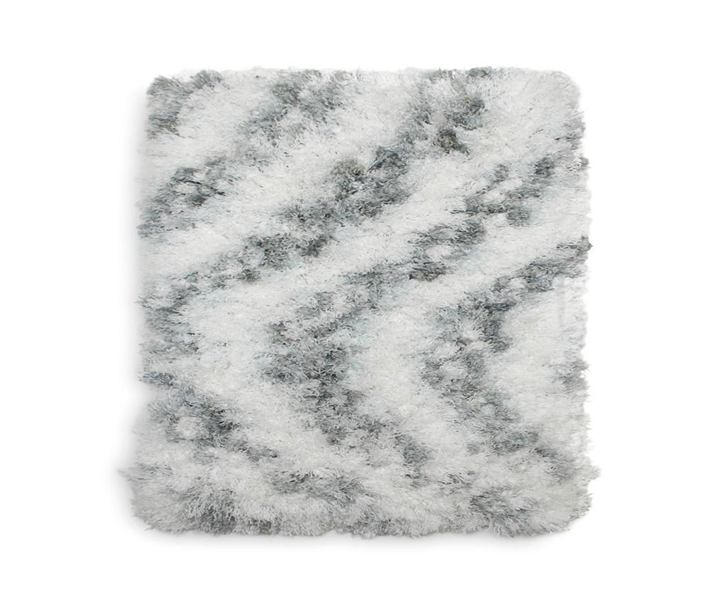 Covoras de baie Selah Light Grey 60x60 cm