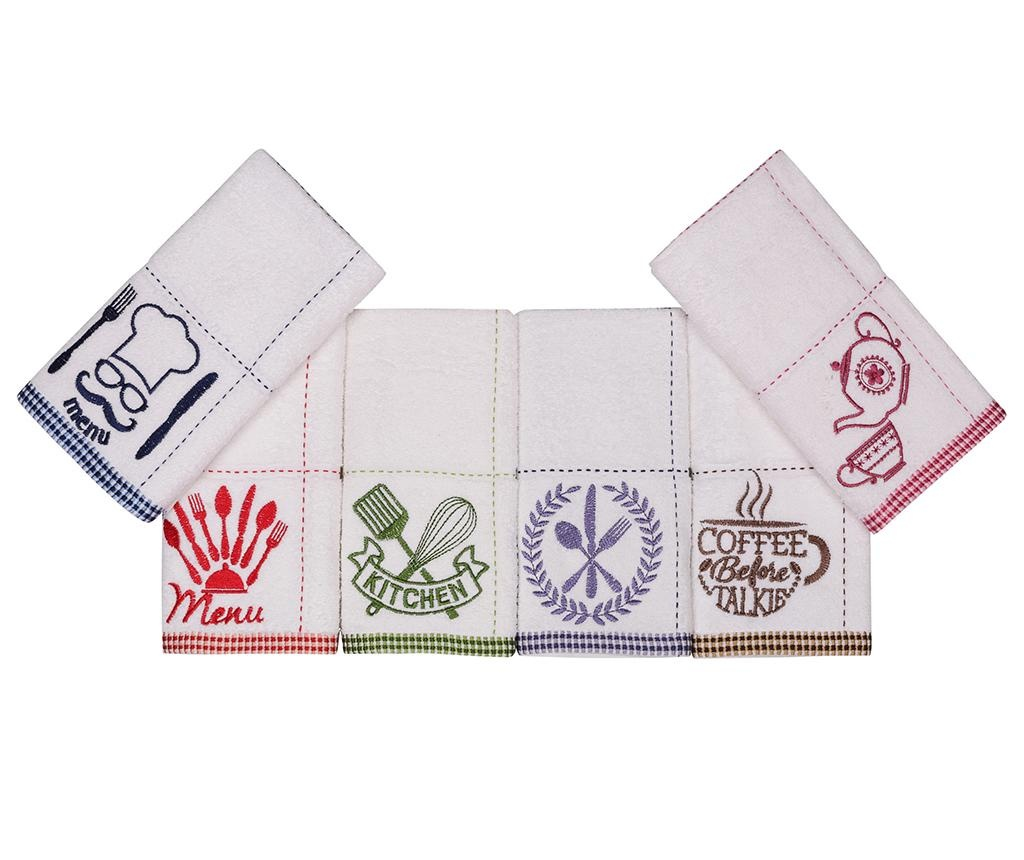 Set 6 kuhinjskih ručnika Home 30x50 cm
