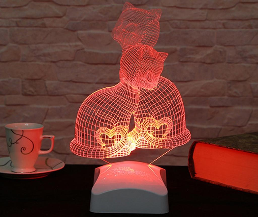 Kittens 3D Éjjeli fény
