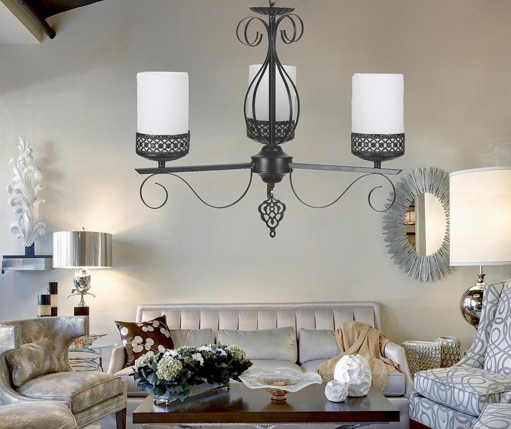 Candelabru Luxury Three White