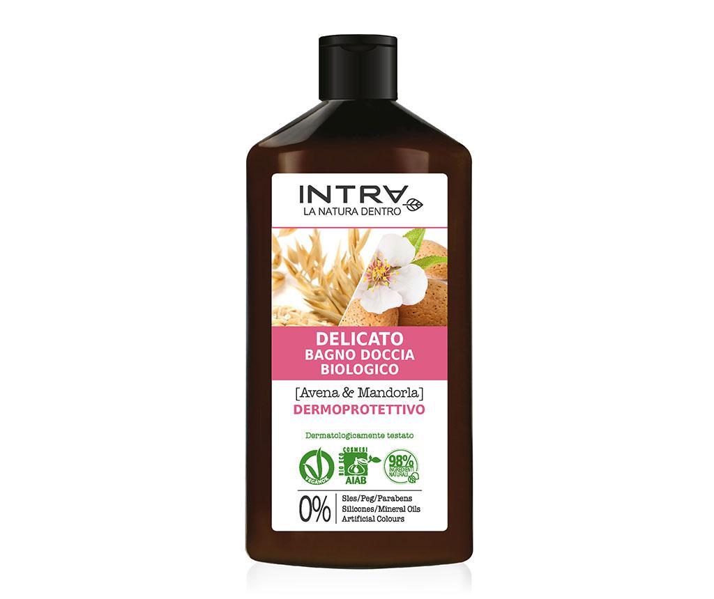 Organski gel za tuširanje Dermo Protective Oat&Almond 400 ml
