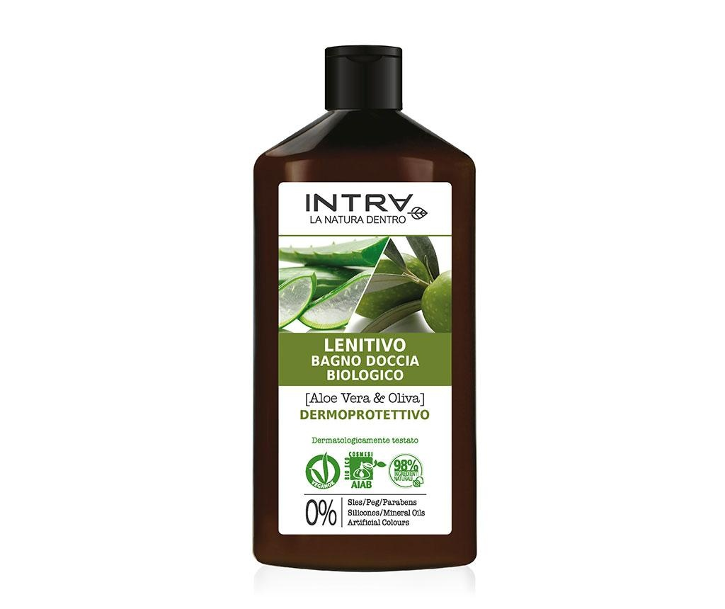 Dermo Protective Aloe&Olive Szerves tusfürdő 400 ml