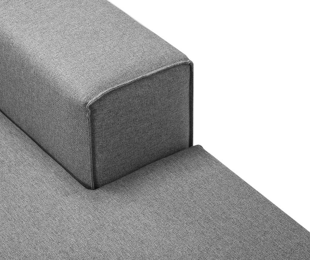 Desna kotna sedežna garnitura Cartagena Grey