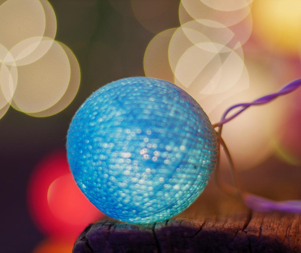 Ghirlanda luminoasa Mimy Blue